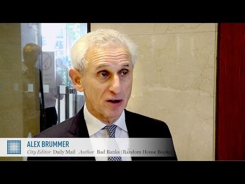 Alex Brummer: banking system is 'still living on crack cocaine' | World Finance Videos