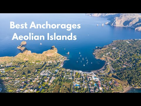 Best Anchorages in The Aeolian Islands