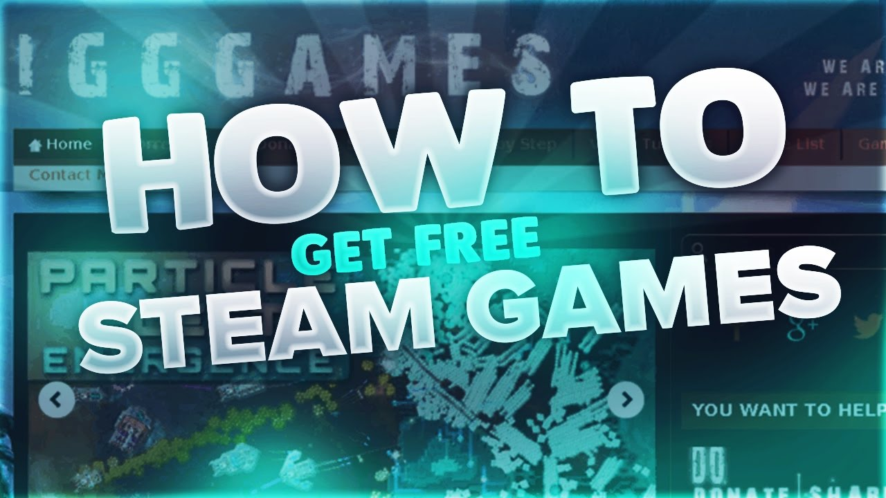 HOW TO GET FREE STEAM GAMES *2017* *NEW* *WORKING* - YouTube