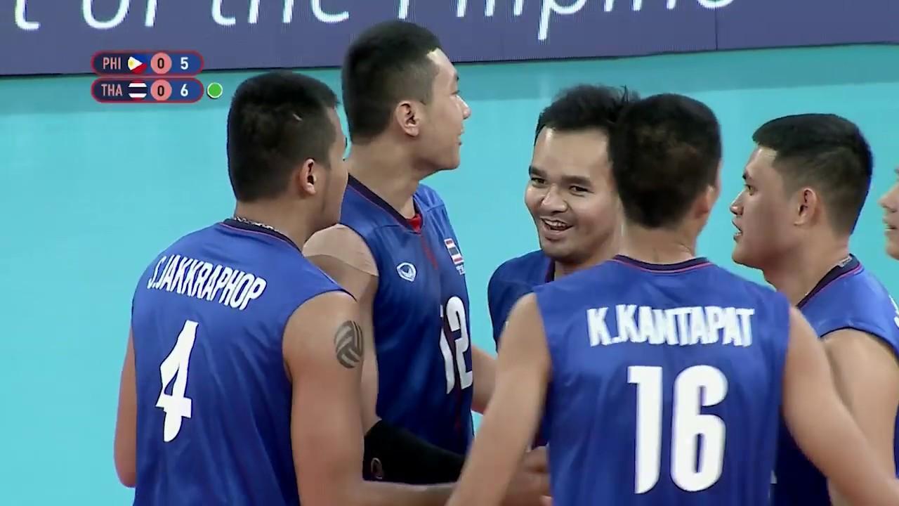 Download SEA Games 2019: Philippines VS Thailand Men's Division SEMI-FINALS | Volleyball