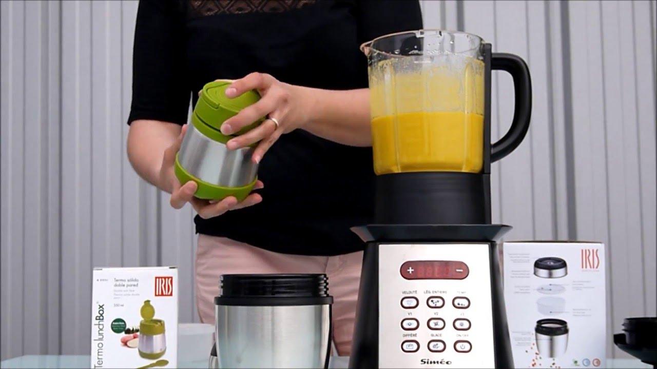Blender chauffant sim o faire une soupe recette youtube - Recette soupe blender chauffant ...