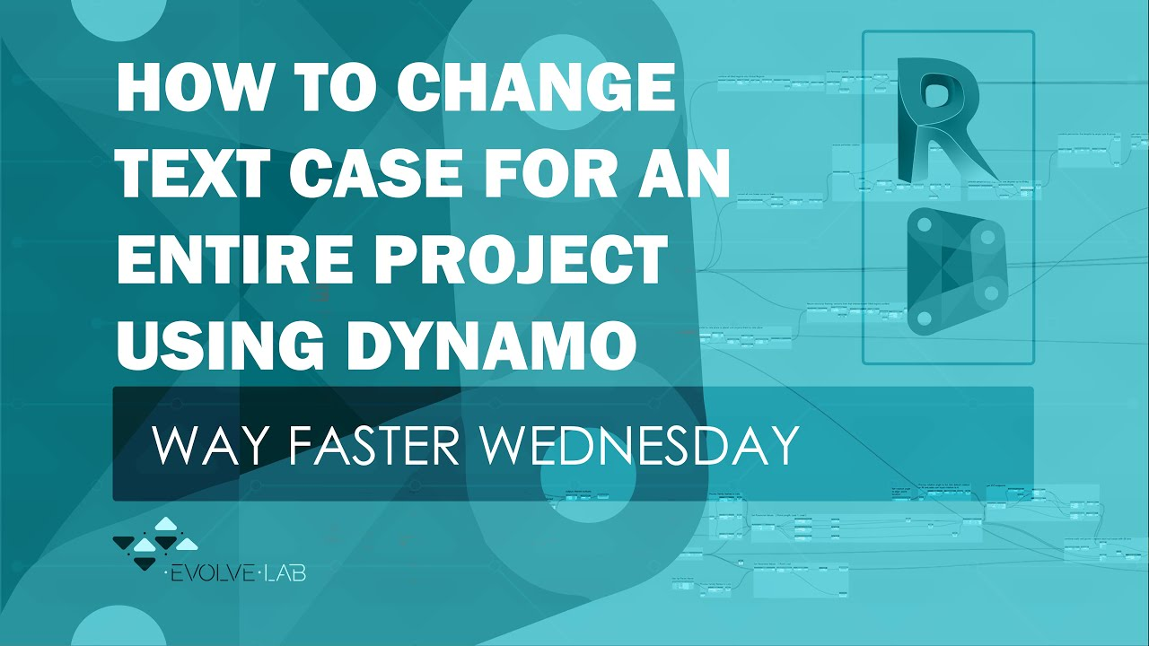 Change Text Case With Dynamo