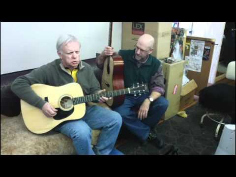 Eastman E10D v. Recording King RD316 Adi/Mahogany Dreads
