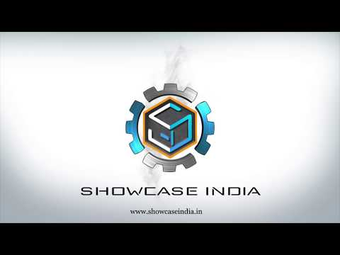 Showcase India | Logo Animation | 3D Light