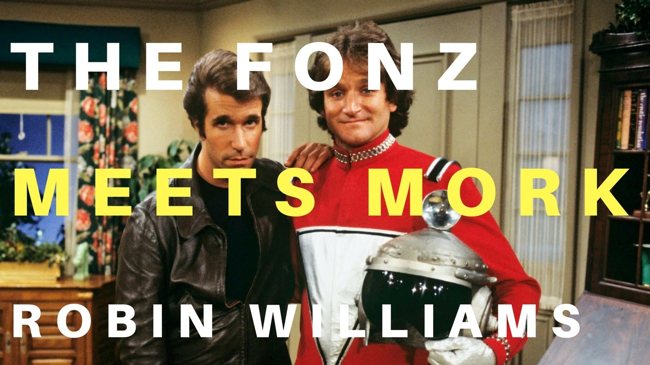 The Fonz Meets Mork (Robin Williams)