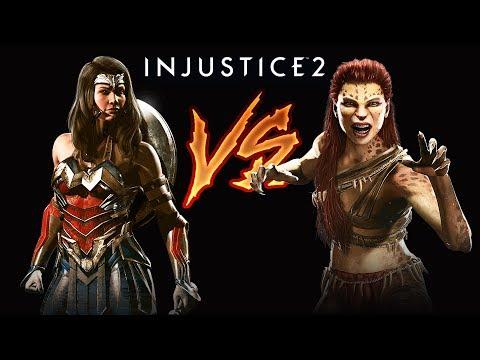 វីរះនារីប៉ះនារីខ្លារខិន - Wonder Woman VS Cheetah - Injustice 2 Story Mode Ep07 Khmer|VPROGAME