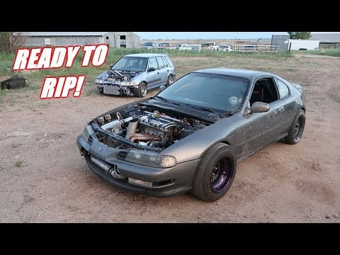 Prepping The 1000Hp Prelude for the Track!