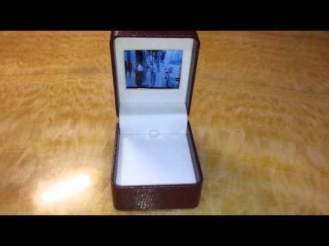 Video Jewelry boxes,Digital jewelry box