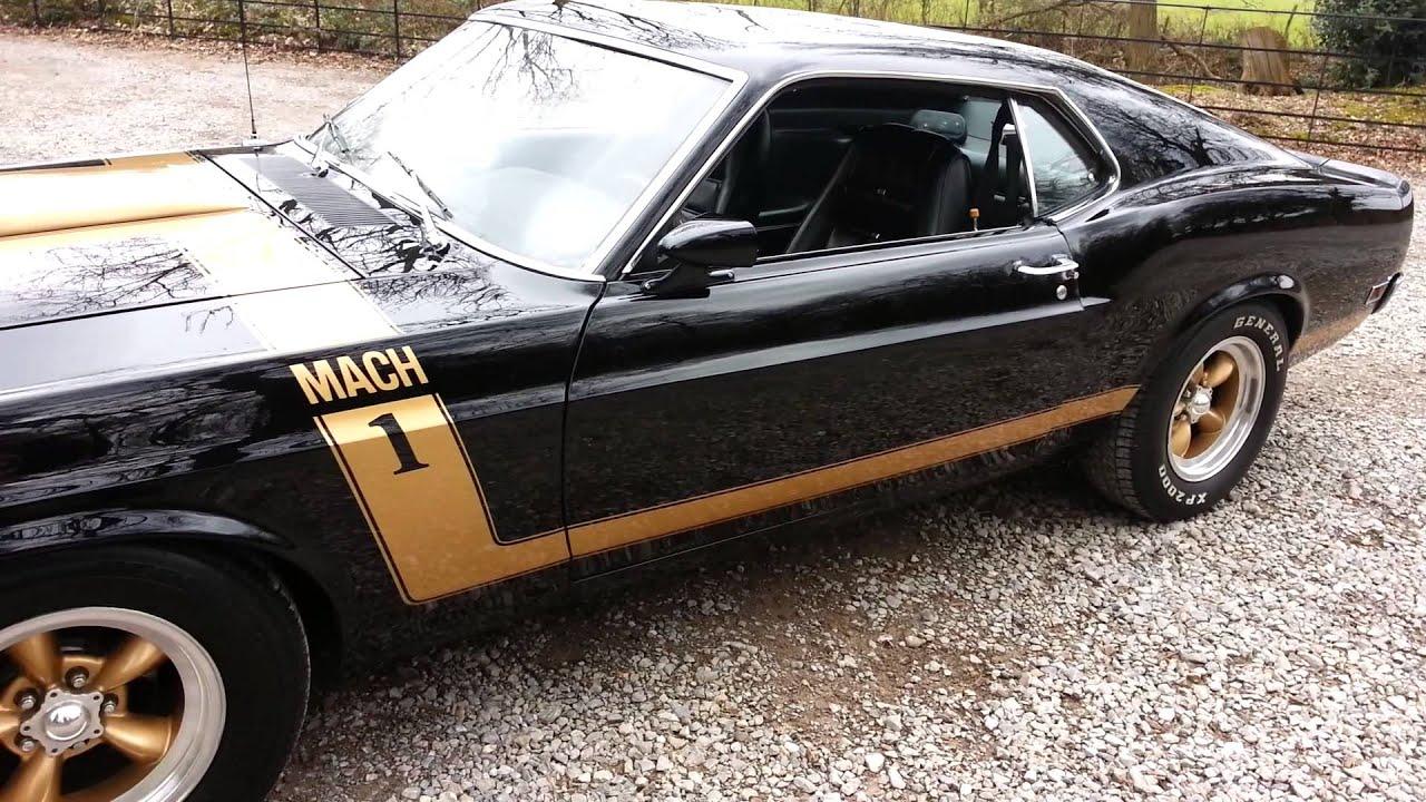 1970 Mustang Mach 1 Restomod  YouTube