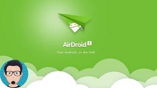 شرح تطبيق AirDroid للتعامل مع الهاتف عبر الوايفاي screenshot 1