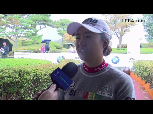 Minjee Lee Talks Opening Round 66 at 2019 BMW Ladies Championship