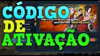CÓDIGO DE ATIVAÇÃO! - LEGEND E NARUTO ONLINE