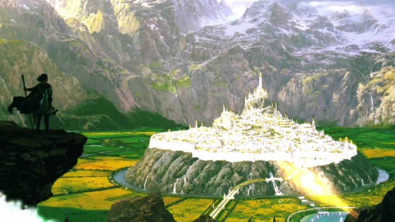 Create Animated Wallpaper Tolkien City Gondolin By Nasmith Animated By Tom Roe