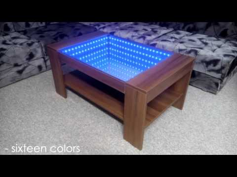 Infinity Mirror Coffee Table (self made)