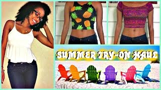 Summer Try-On Haul | Forever 21, Aliexpress, Disney World & More