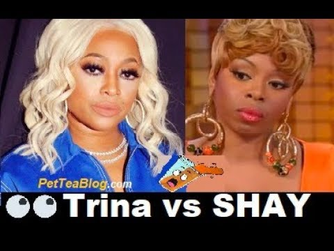 Trina Drags Shay on the Love & Hip Hop Miami Reunion Part 2 ☕