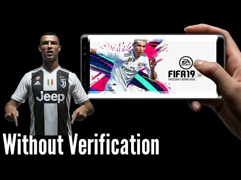 FIFA 19 for android without human verification