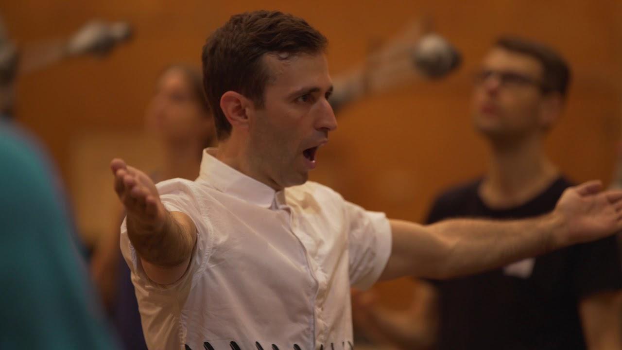 Akhnaten in Rehearsal