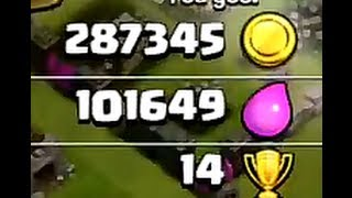 Clash of Clans - Farming - Stealing an easy 390k.