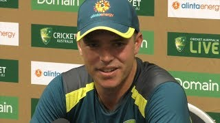 The Perth wicket will probably suit us more: Marcus Harris