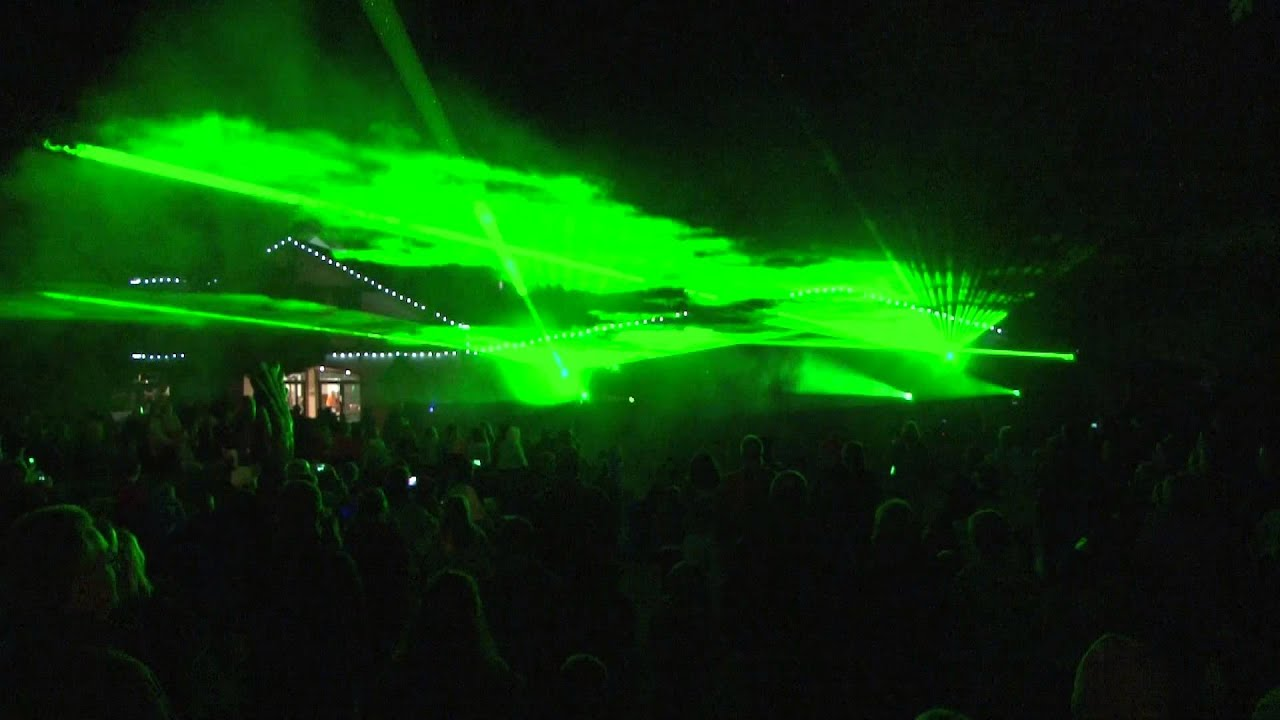 Holiday world 39 s happy halloween weekends dance party - Halloween laser light show ...