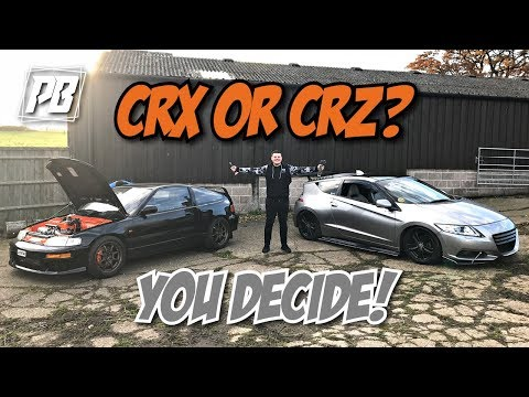 22 YEARS DIFFERENCE K20 CRX VS CRZ!!! *CRAZY*