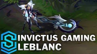 Invictus Gaming LeBlanc Skin Spotlight - League of Legends