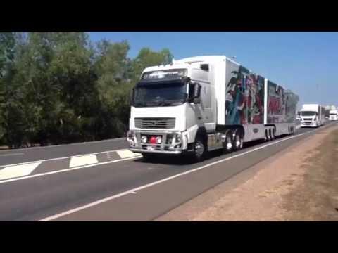 V8 Supercars Convoy Darwin 2012