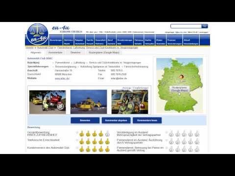 ADAC Bewertungen mit eu-4u, ob ADAC Automobil-Club, ADAC Postbus, ADAC KFZ-Haftpflichtversicherung
