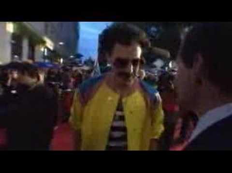 Borat Movie London Premiere BBC interview