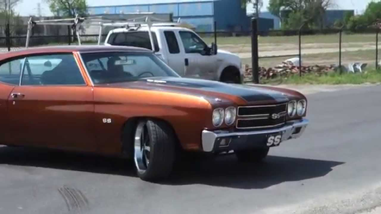 Chevy Chevelle Custom Ss Muscle Car Youtube