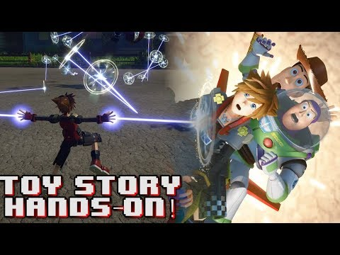 KINGDOM HEARTS 3 HANDS-ON DEMO - TOY STORY WORLD | Part 1
