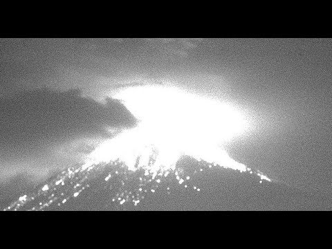 🔴 Popocatépetl Volcano Eruption Live /Active Volcano / Earthquakes Around the World