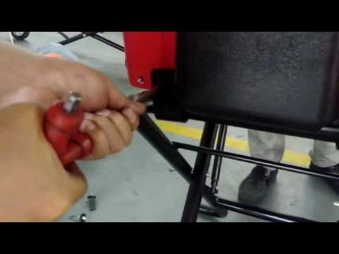 Download Foldable Trolley For Pipe Threading Machines  SQ50E SQ80C1