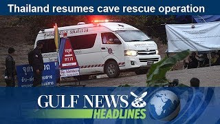 Thailand resumes cave rescue operation  - GN Headlines