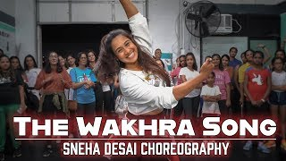 The Wakhra Song - Judgementall Hai Kya | BollyHop Fusion | Wakhra Swag | Sneha Desai Choreography
