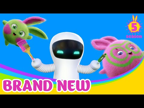 SUNNY BUNNIES - Hello S-Marty! | BRAND NEW EPISODE | Season 5 | Cartoons For Children
