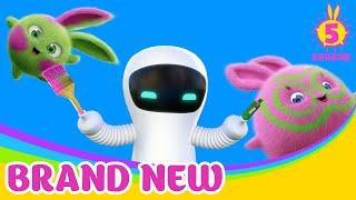 SUNNY BUNNIES - Hello S-Marty! | BRAND NEW EPISODE | Season 5 | Cartoons For Children