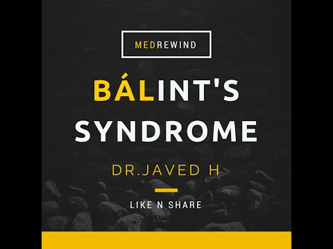 Balint Syndrome Triad (Simplified)