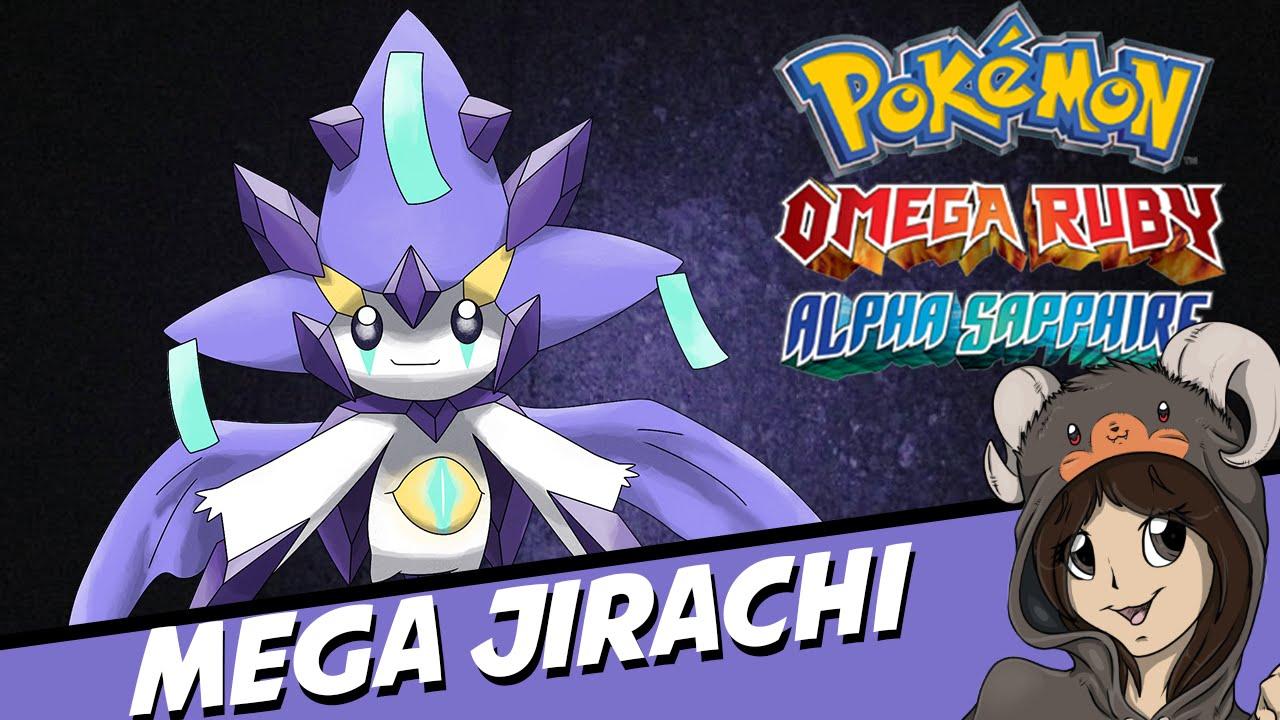 Mega Jirachi Speculation Pokemon Omega Ruby Alpha