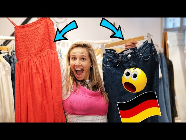 How to shop for clothes in German 👚👖👗