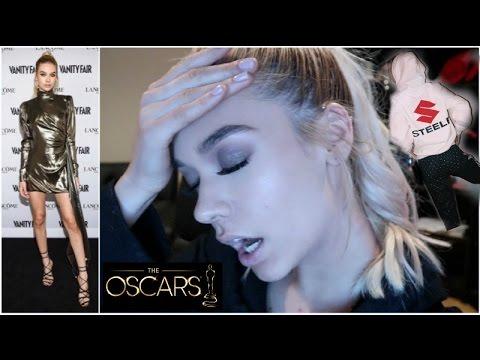 Oscar Party + My New Merch! || Amanda Steele Vlog