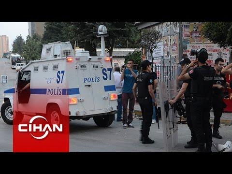 Polisten şafak vakti TOMA'lı operasyon