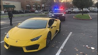 They busted my Lamborghini for this..
