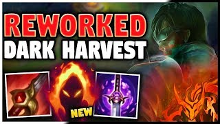 *NEW* REWORKED DARK HARVEST LEE SIN (SEASON 9) IS ACTUALLY INSANE - League of Legends