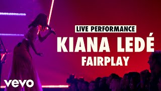 Kiana Ledé - Fairplay (Live) | Vevo LIFT Live Sessions