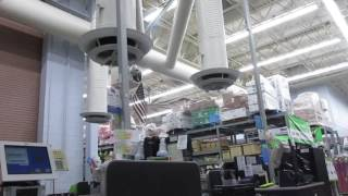 Ceiling fans at Walmart