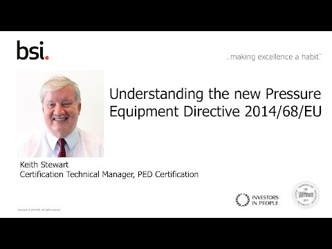 Understand the changes to the Pressure Equipment Directive (PED)