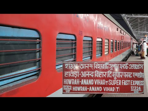 HOWRAH TO KANPUR JOURNEY VLOG | ONBOARD 12323 HWH-ANVT BIWEEKLY EXPRESS | PART 1