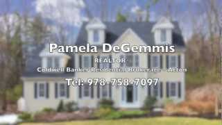 662 Liberty Square Road, Boxborough Ma - For Sale By Pamela Degemmis, Tel 978-758-7097